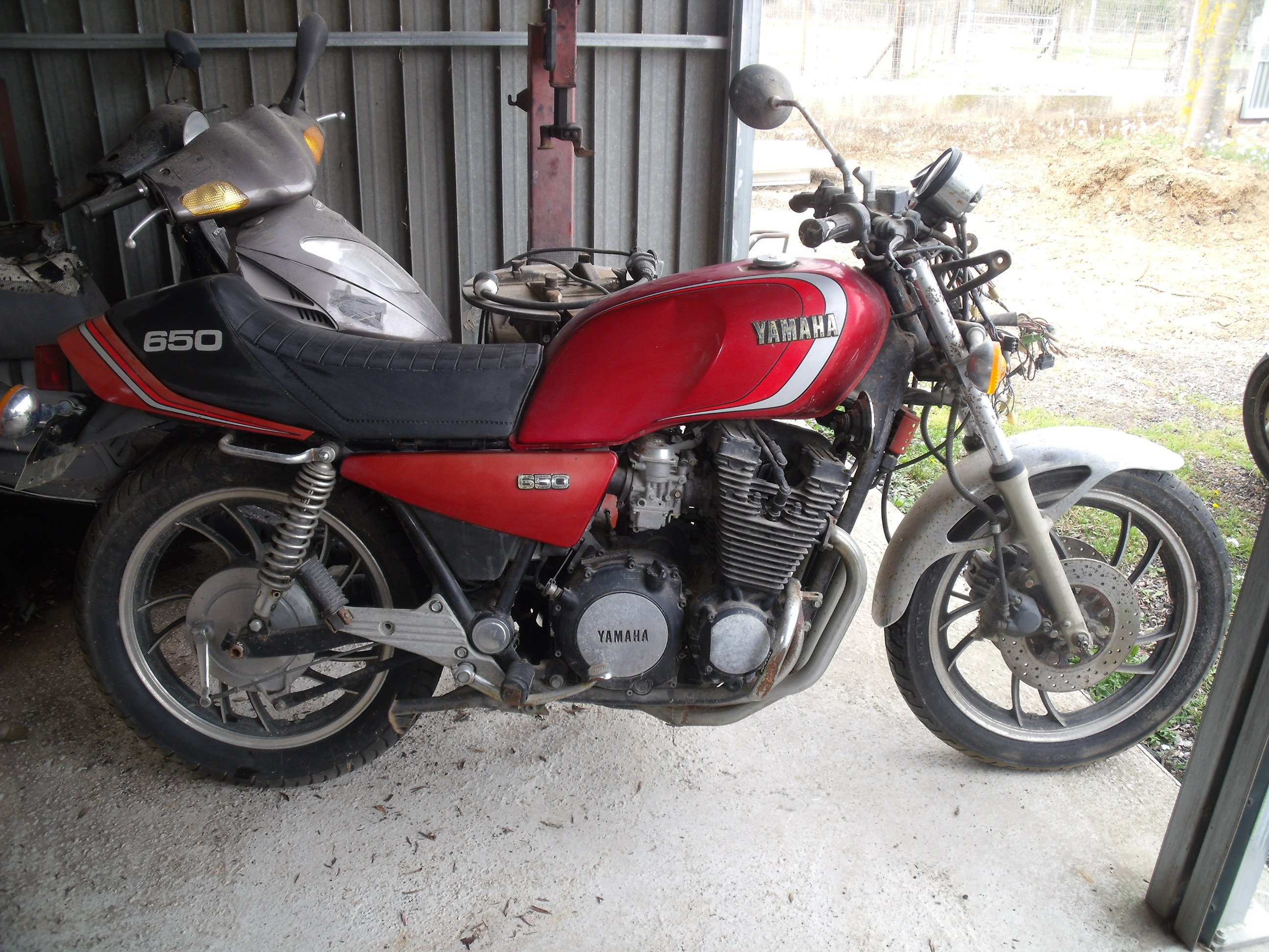 YAMAHA 650 XJ 1981
